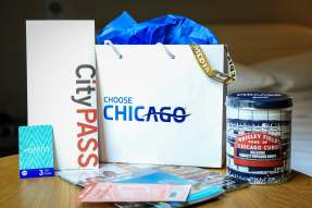 Welcome bag from Choose Chicago
